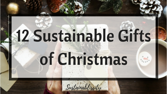 12 sustainable gifts of christmas - The 12 Gifts Of Christmas