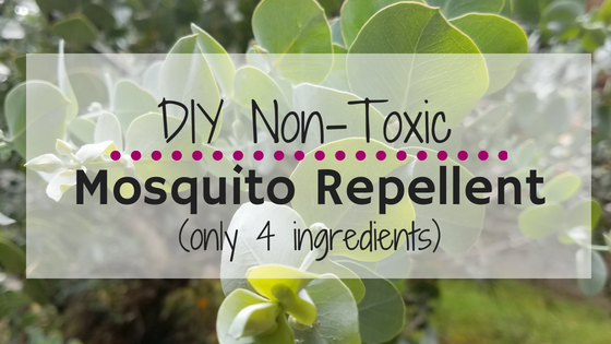 The Only Natural Diy Non Toxic Mosquito Repellent You Need This Summer